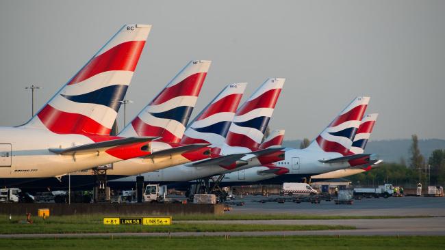 British Airways решила продлить приостановку полетов в КНР до 31 марта