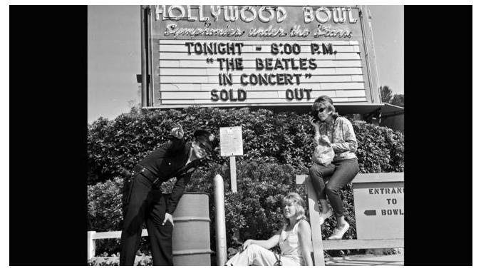 The Beatles переиздадут концертник At The Hollywood Bowl