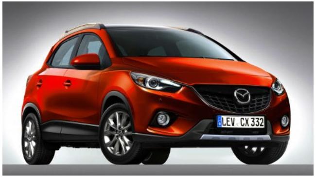 Mazda представила кроссовер Mazda CX-3