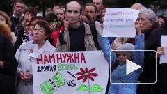 Жители протестуют против возведения храма на Долгоозерной