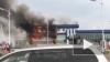 Появилось видео пожара в аэропорту Благовещенска