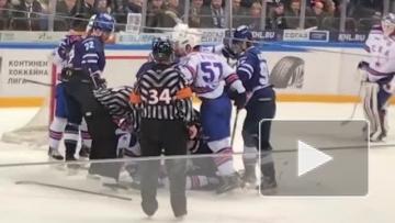 "СКА оторвался от ""Динамо"" в плей-оф КХЛ"