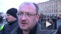В Петербурге депутат Максим Резник подрался с полицейскими и требует отставки Сергея Умнова