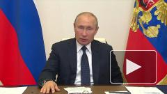 Путин назвал число претендующих на детские пособия россиян