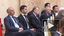 Георгий Полтавченко выступил с отчётным докладом перед д...