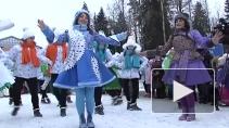 Российский Дед Мороз посетил Выборг