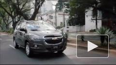 Chevrolet представил компактвэн Spin, работающий на бензине и этаноле