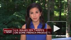 В США введут пошлину в 25% на французские товары