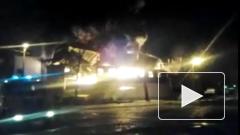 """В Петербурге гипермаркет """"К-Раута"""" выгорел полностью за час"""
