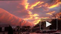 Видео из США: гигантское облако накрыло Ричмонд
