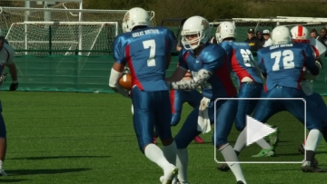 Первое видео U-19 Россия - U19 Великобритания