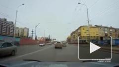 Возмутительное поведение автоледи в Омске