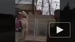 Видео: российские военные попали под обстрел в Сирии