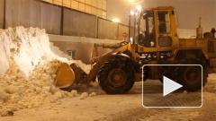 В Петербурге из-за снега уберут рекламные щиты