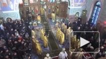 Патриарх Кирилл освятил храм Преподобного Сергия Радонежского в Царском Селе