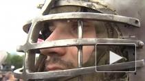 """Битва на Неве"" у стен Петропавловской крепости"