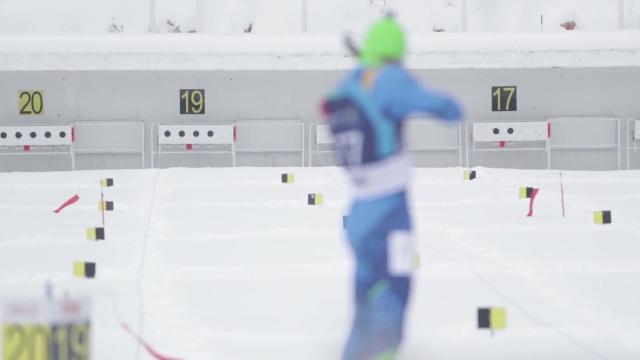 Российский биатлонист завоевал золото чемпионата Европы