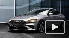 Genesis показал внешность обновленного седана G70