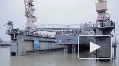 "Фрегат ""Адмирал Касатонов"" спустили на воду в Петербурге"