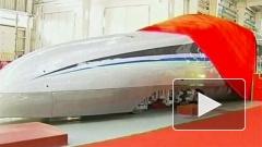 """В Китае запустили поезд, который в два раза быстрее """"Сапсана"""""""