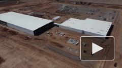 В пустыне Аризоны строят крупнейший завод по производству электромобилей