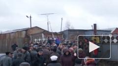 В Петербурге новый конфликт из-за массового сноса гаражей на Пискаревском проспекте