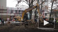 """Новый корпус """"Госпиталя для ветеранов войн"""" в Петербурге готов на 62%"""