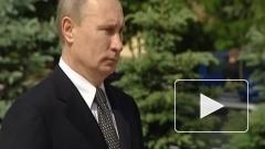 Путин возложил венок к монументу Победы в центре Минска