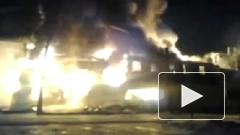 """В Петербурге пожар полностью уничтожил гипермаркет """"К-Раута"""""""