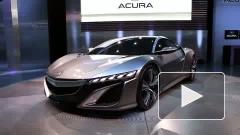 Honda представила в Детройте суперкар Acura NSX