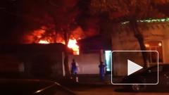 Серьезный пожар в Оренбурге