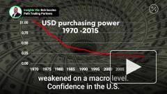 Bloomberg назвал две валюты, которые составят конкуренцию доллару