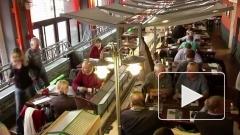 Чтобы завлечь клиентов, ресторан освоил доставку им пива поездами