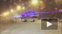 Жители Ростова в шоке: маршрутка устроила дрифт на Театральной площади
