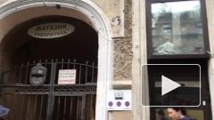 В Петербурге на Садовой лепнина рухнула на тротуар