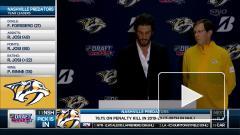 Четверо россиян были выбраны в первом раунде драфта НХЛ-2020