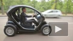 Renault начала продажу двухместного электромобиля Twizy