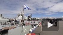 В Петербурге проходит Международный военно-морской салон