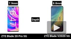 ZTE представила новый смартфон ZTE Blade 20 Pro 5G