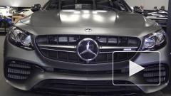 Mercedes представил обновленные седан и универсал AMG E 63