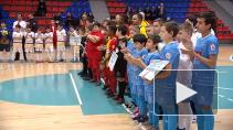 В Петербурге прошел 16-й международный турнир по мини футболу среди воспитанников детских домов и школ-интернатов