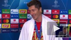 Левандовски признан лучшим футболистом сезона по версии УЕФА