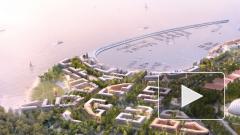 Опубликовано видео 3D модели застройки намыва под Сестрорецком