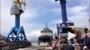 Первый за 40 лет новейший ледокол для ВМФ России спустил...