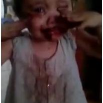 Сразу видно, что она не ела шоколад!