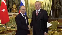 Владимир Путин отреагировал на начало военной операции Турции в Сирии