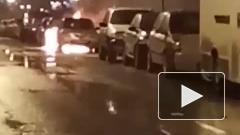 В Купчино сожгли автомобиль сотрудницы Смольного