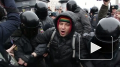 В Петербурге на несогласованной акции оппозиции задержано 40 человек