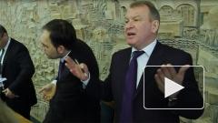 """Будущее рынка у """"Старой деревни"""" в Петербурге обсуждали с криками и скандалом"""
