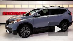 Honda анонсировала обновленный кроссовер CR-V для России